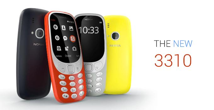 Lancio sul mercato nuovo Nokia 3310 - 26 Febbraio 2017